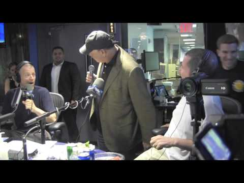 Jon Taffer puts his hands on Kevin Brennan's food  - @OpieRadio @JimNorton