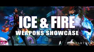 Guild Wars 2 Icebrood Saga Balance | Ice and Fiery Weapons Showcase