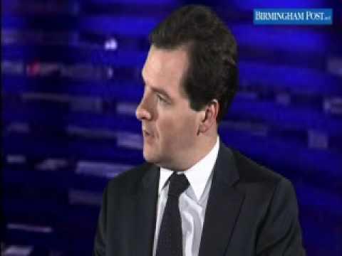 George Osborne Speaks to the Birmingham Post