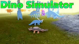 [Dino Simulator Ep1: ROBLOX] - Kill Everything! Commentary