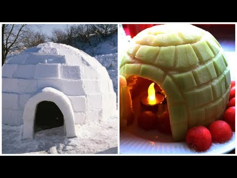 How to Make Watermelon Igloo | Creative Food Ideas | Watermelon Hacks