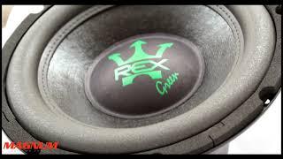 REX GREEN 400W | NOVO SUBWOOFER DA MAGNUM