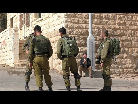 Life under occupation in Hebron: Soldiers harass teachers and school children, Oct.-Nov. 2017