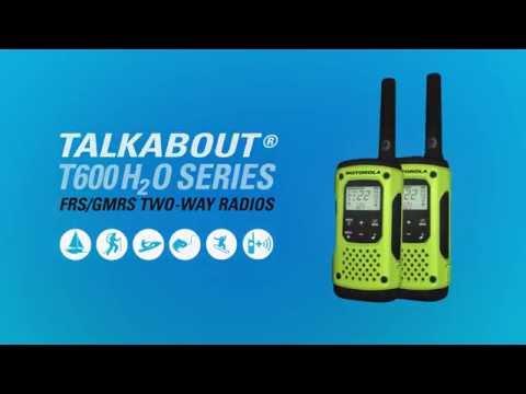 Walkie-Talkie de licena livre T92 H2O