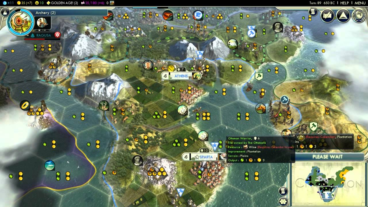 Civilization V   Alexander of Greece (Episode 1 Part 5)   (Not