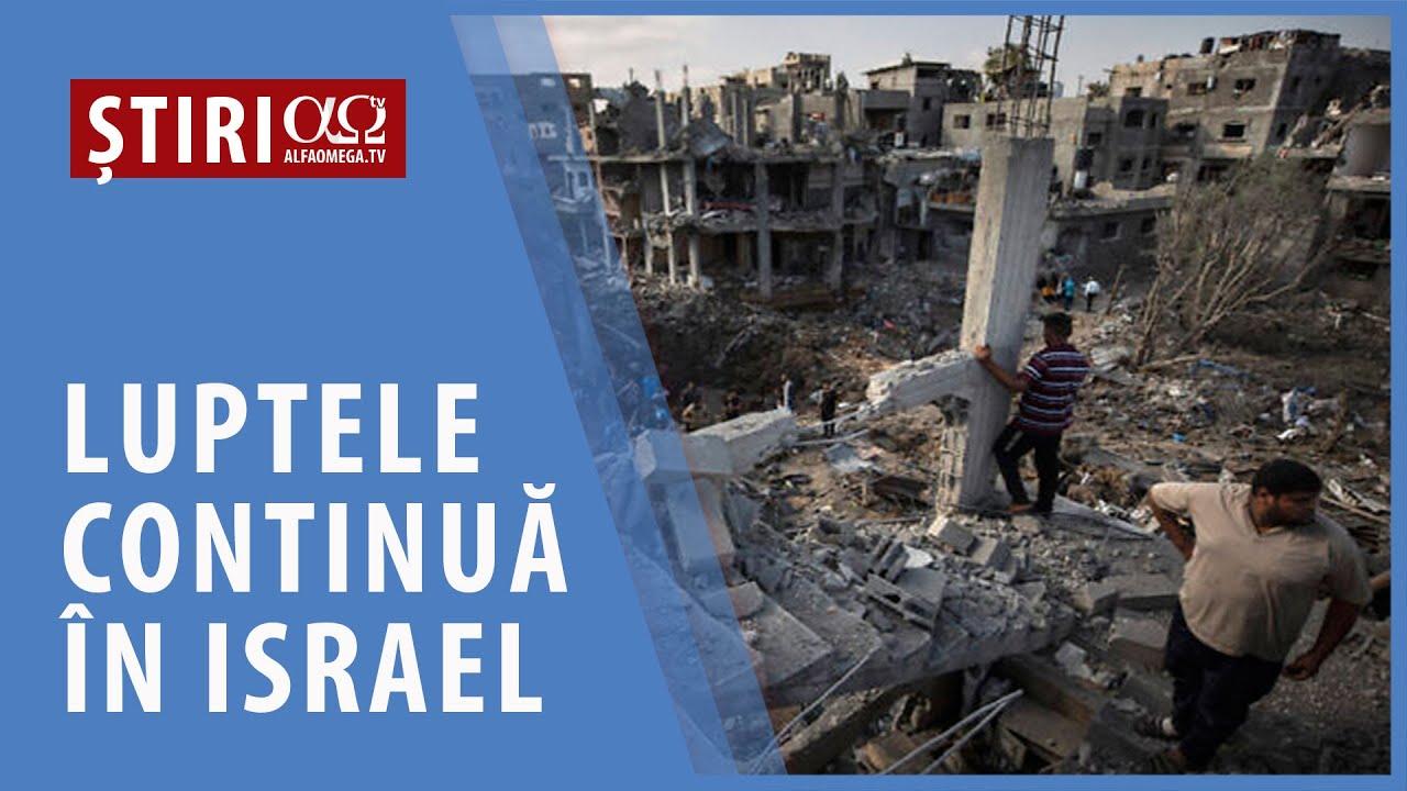 Luptele continuă în Israel   AO NEWS, 17 mai 2021
