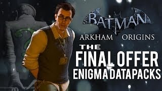 Batman Arkham Origins - The Final Offer - All Enigma Datapacks / Extortion Files Locations