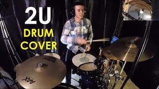 "DRUM COVER: ""2U"" - David Guetta ft Justin Bieber"