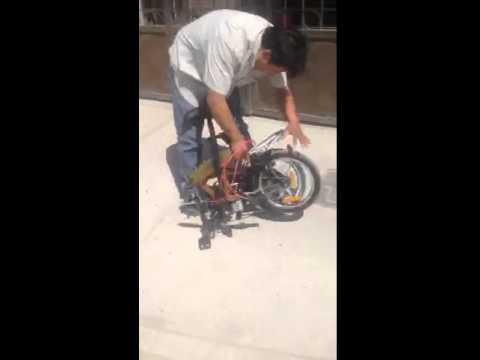 Tokyo citizen folding bike