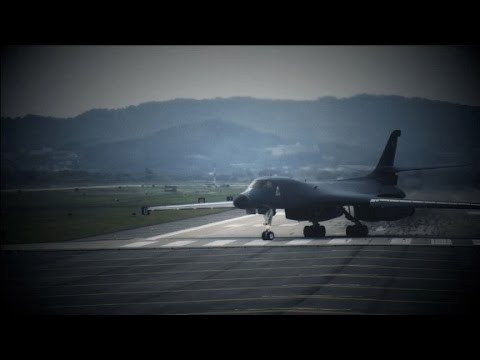 North Korea: US bombers pushing crisis close to nuclear war