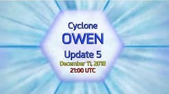 Cyclone Owen Update - 10am AEST December 12, 2018