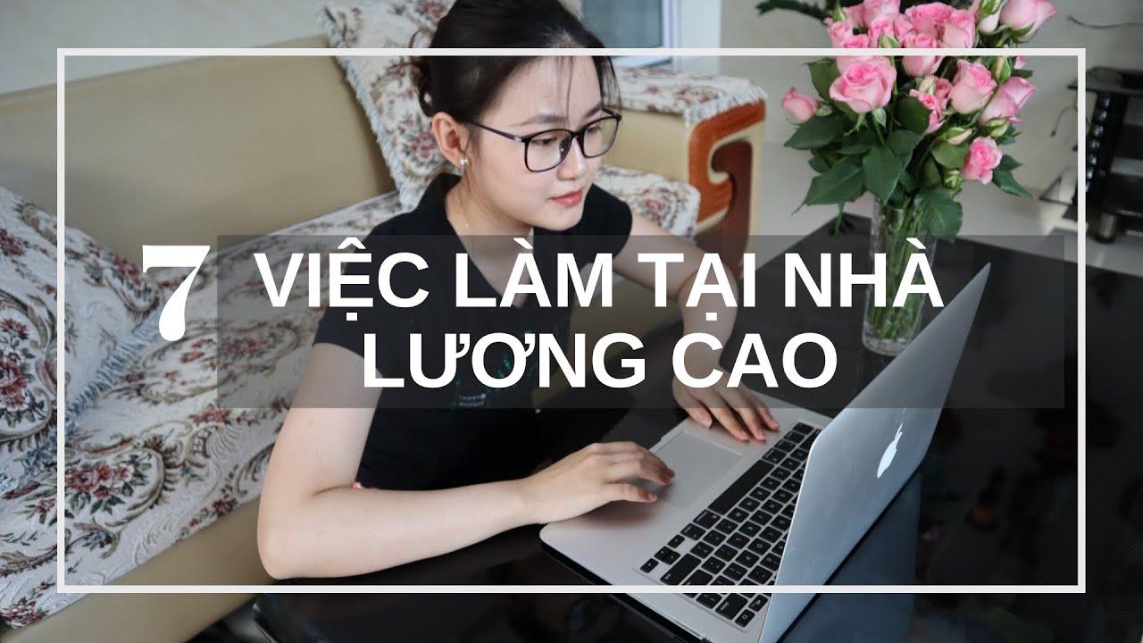 7 CÁCH KIẾM TIỀN ONLINE TẠI NHÀ | Nguyễn Hồng Loan