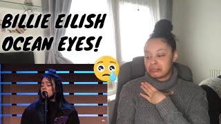 Billie eilish - ocean eyes [live in the lounge] reaction
