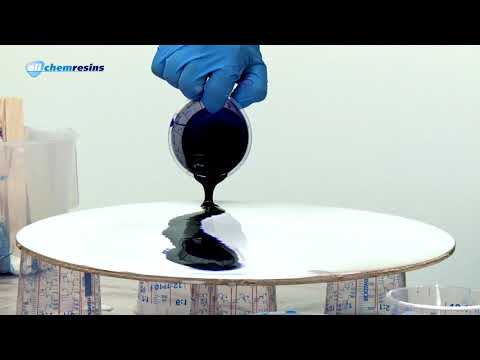 Ultra Cast XT epoxy coating & casting resin demonstration