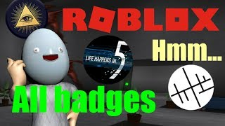 Roblox - Hmm... | All badges