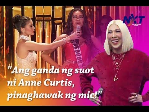 """""""Ang ganda ng suot ni Anne Curtis, pinaghawak ng mic!"""""""