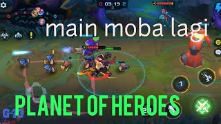 ANDROID GAME MOBA PLANET OF HEROES