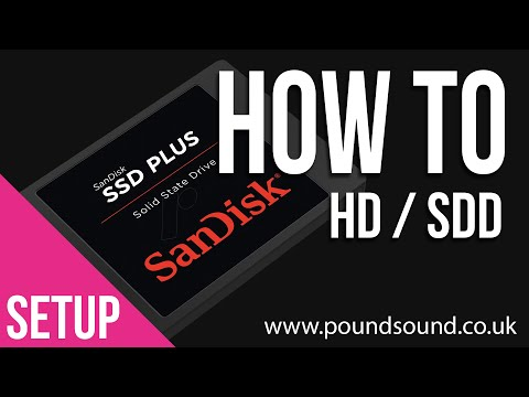 How To - Setup Hard Drives for Audio Production (The Basics)