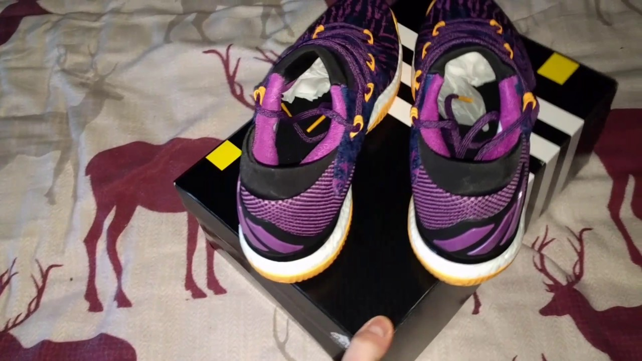 the best attitude 03ac1 8773d Adidas Crazylight Boost 2016 Low Primeknit Nick Young aka Swaggy P La  Lakers PE Unboxing  Review!!