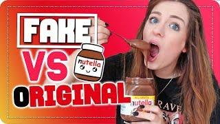 ich teste FAKE Nutella Nuss Nougat Cremes vs. originale Nutella