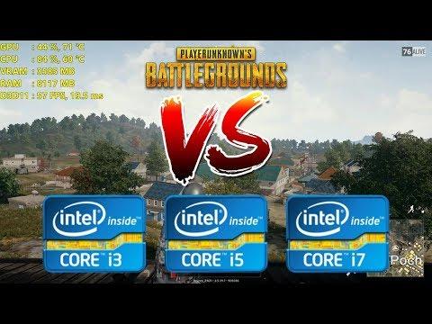Intel Core i3 vs i5 vs i7   Playerunknown