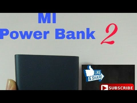 "India's first ""Xiaomi MI power bank 2"" unboxing. Got it in first shipping."