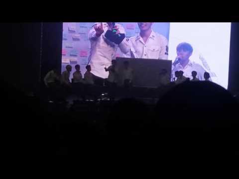 "SEVENTEEN Manila Fanmeet 160814 Dino Q&A: ""Can you dance without music?"""