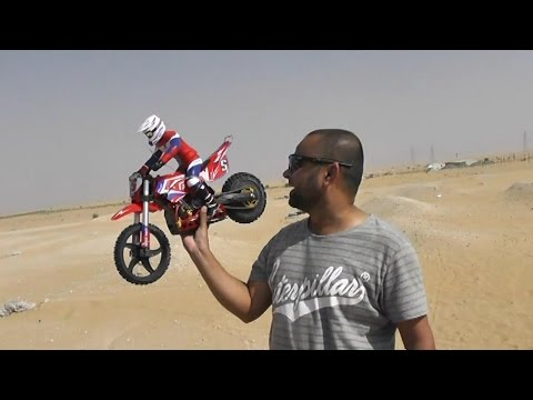 RC Off Road Bike Super Rider SR5 hardcore bashing and Jumps