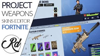 ‪CONCEPT FORTNITE CUSTOMIZATION ? (WEAPONS ACCESSORY, SKINS EDITOR AND PLANE CUSTOM) @EPICGAMES