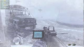 Call Of Duty MW 2   SOLO PLAY MISSION   Acceptable Losses   Plating C4 behind enemy line