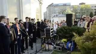 Посвячення пам'ятного знаку Героям Небесної Сотні та Захисникам незалежності України