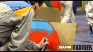 graffiti-fabriek - graffiti workshop teambuilding