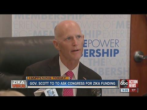 Governor Scott to ask Congress for Zika funding