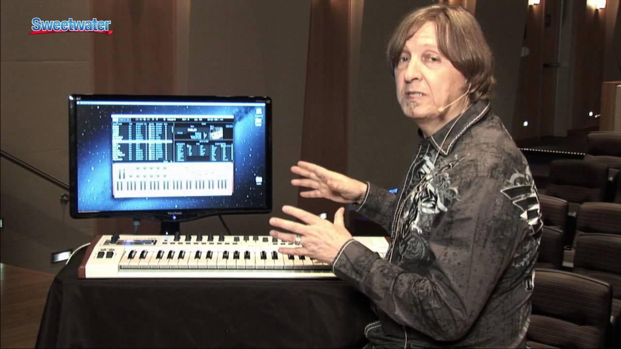 arturia keylab 49 keyboard controller demo sweetwater sound youtube. Black Bedroom Furniture Sets. Home Design Ideas
