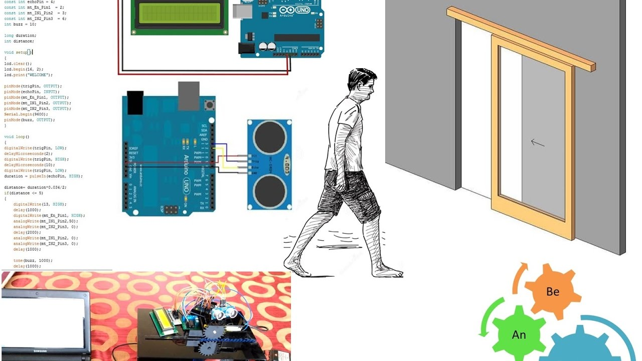How To Make Automatic Door Opening System Using Arduino