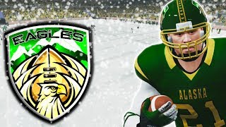 EPIC SNOW GAME IN ALASKA! | NCAA 14 Alaska Eagles Dynasty Ep. 8