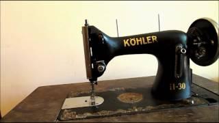 Коротка інструкція ручної швейної машинки Kohler