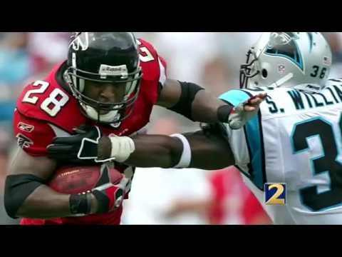 Warrick Dunn talks about depression to help others