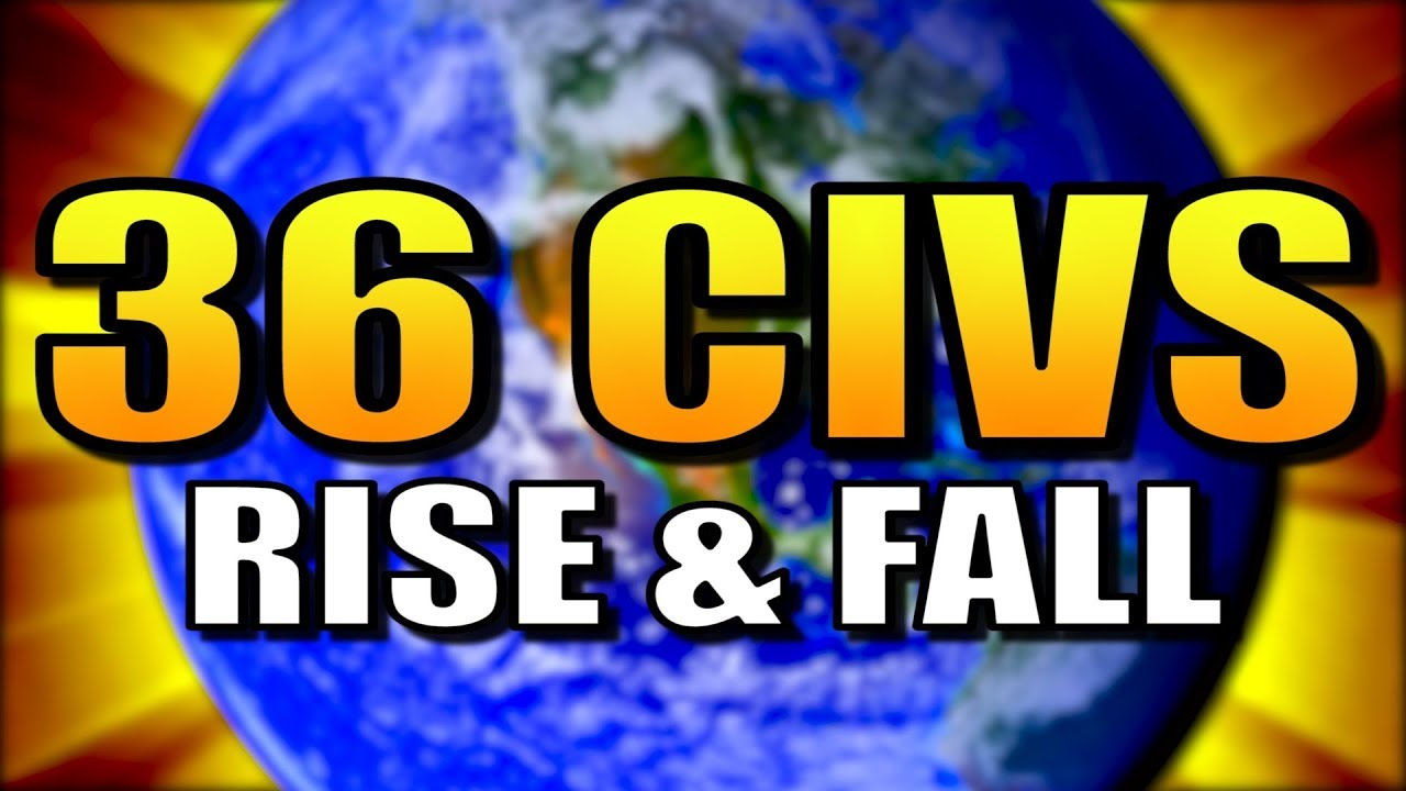 All 36 CIVS on Giant Earth [Rise and Fall] | Civilization 6: Civ 6
