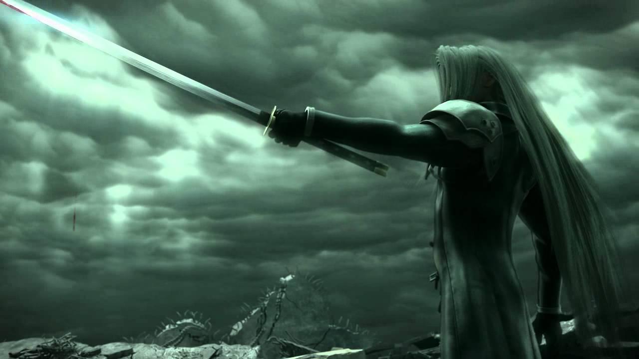 Ff7 Wallpaper Hd Final Fantasy Vii Advent Children Cloud Vs Sephiroth