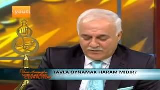 Nihat Hatipoglu - Tavla Oynamak Haram mıdır 2017 Video