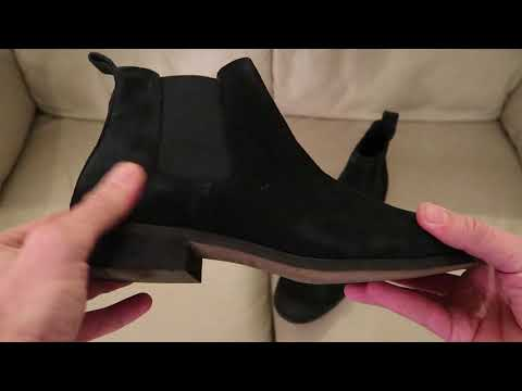 Shoe the Bear Men's S Chelsea Boots Black Suede Leather Amazon Unboxing