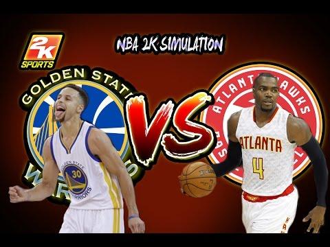 Golden State Warriors vs Atlanta Hawks - Full game | March 6, 2017 | Season 2016-17 | NBA 2K17