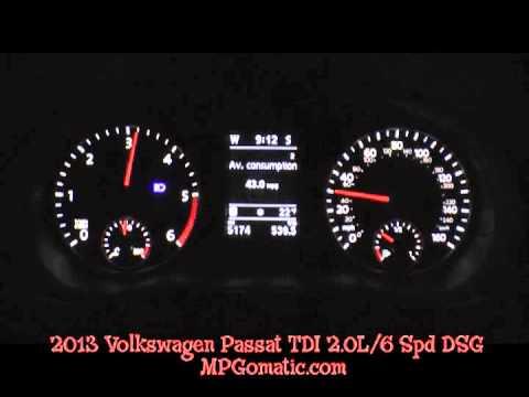 2013 VW Passat TDI 0-60 MPH
