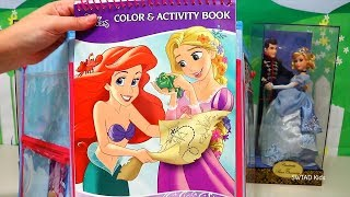 Swtad Vids | Disney Princess Activities For Kids ! Toys And Dolls Fun Learning Video For Children