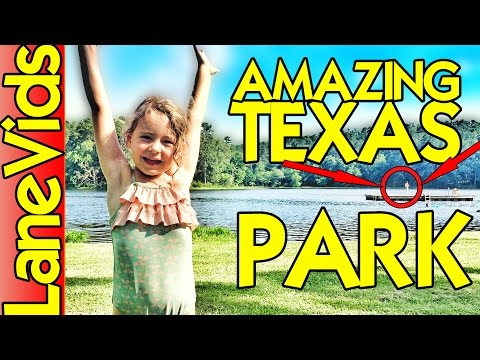 DAINGERFIELD STATE PARK: Things to Do in Texas | Road Trip Vlog [Daingerfield, TX] | LaneVids (3/25)