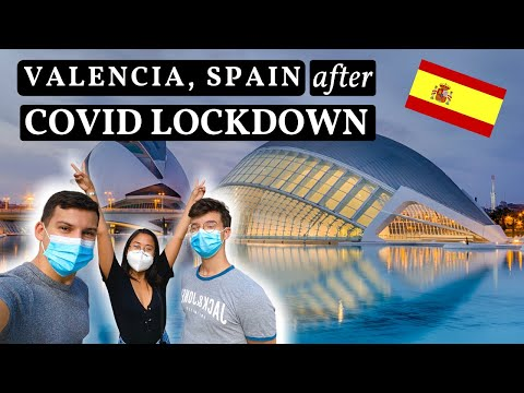 CRAZY DAY IN VALENCIA SPAIN 🇪🇸 FIRST TRAVEL AFTER LOCKDOWN 😱😱😱