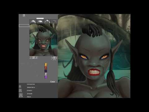 Portrait Wizard: making a female Goblin
