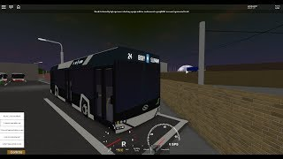 (Special for 5 subs) ROBLOX tram driving report to HL. N. + Horse Solaris Urbino 12m