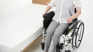[미키코리아메디칼]트랜스퍼기능의 휠체어 LK2